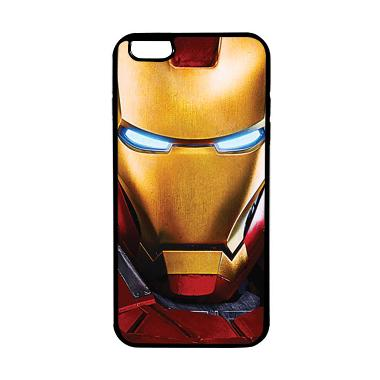 HEAVENCASE Case Casing Iphone 6 Plu ... itam Superhero Ironman 07