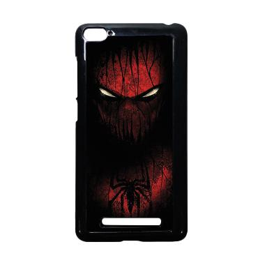 HEAVENCASE Spiderman 02 Hitam Hardc ... aomi Mi4i and Xiaomi Mi4c