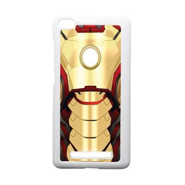 HEAVENCASE Ironman 10 Putih Hardcas ... aomi Mi4i and Xiaomi Mi4c