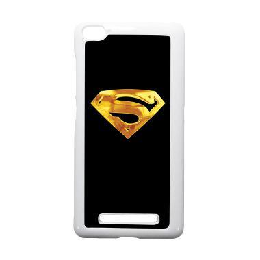 HEAVENCASE Superman 09 Putih Hardca ... iaomi Mi4i or Xiaomi Mi4c