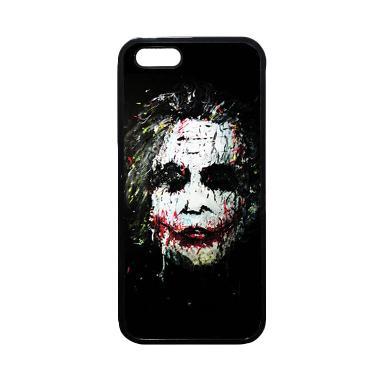 Heavencase Joker 02 Softcase TPU Bu ... ne 5 or iPhone 5s - Hitam