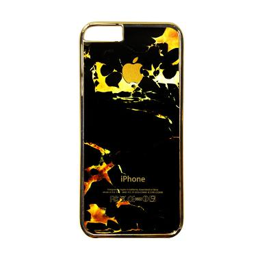Heavencase Motif Apple Gold 05 Casing for iPhone 6 or iPhone 6s - Gold
