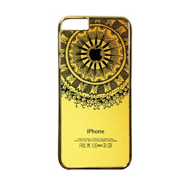 Heavencase Motif Apple Gold 11 Casing for iPhone 6 or iPhone 6s - Gold