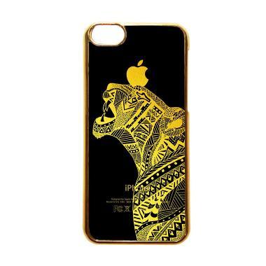 Heavencase Motif Apple Gold 20 Casing for iPhone 5C - Emas