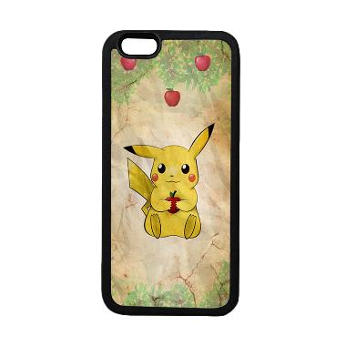 Heavencase Motif Pokemon Go 17 Soft ... ne 6 or iPhone 6s - Hitam