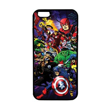 HEAVENCASE Superhero Avengers 03 So ... or iPhone 6s Plus - Hitam