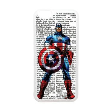 Heavencase Superhero Captain Americ ... one 6 or Iphone 6s Bening