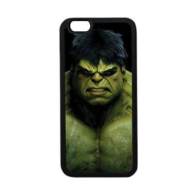 HEAVENCASE Superhero Hulk 01 Casing for iPhone 6 or iPhone 6s - Hitam