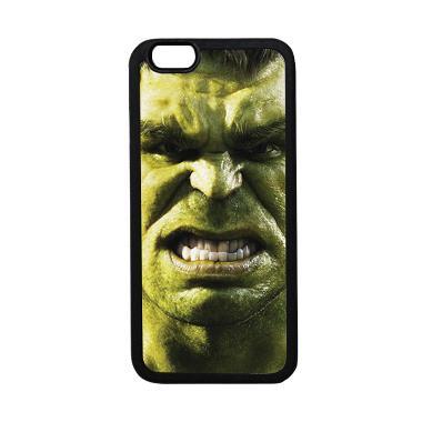 HEAVENCASE Superhero Hulk 02 Casing for iPhone 6 or iPhone 6s - Hitam