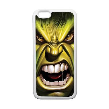 HEAVENCASE Superhero Hulk 03 Casing for iPhone 6 or iPhone 6s - Putih
