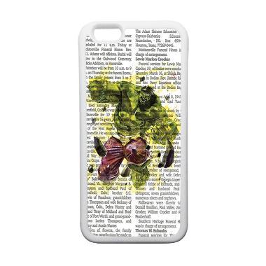 HEAVENCASE Superhero Hulk 04 Casing for iPhone 6 or iPhone 6s - Putih