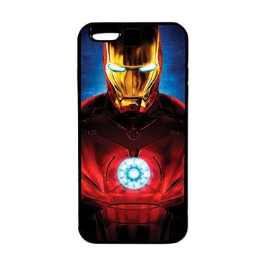 HEAVENCASE Superhero Ironman 06 TPU ... nd Iphone 6s Plus - Black