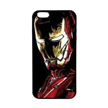 HEAVENCASE Superhero Ironman 09 TPU ... nd Iphone 6s Plus - Black
