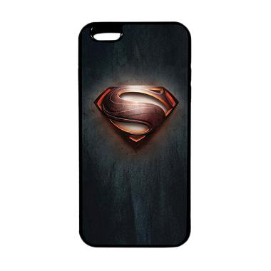 HEAVENCASE Superhero Superman 04 TP ... or iPhone 6s Plus - Hitam