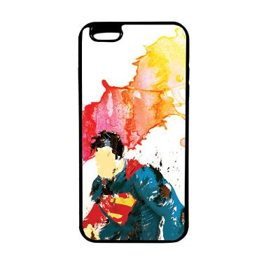 HEAVENCASE Superhero Superman 07 TP ... or iPhone 6s Plus - Hitam
