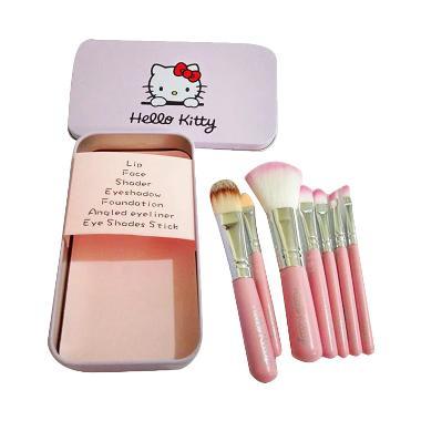 Hello Kitty Brush Set MakeUp [7 pcs/set]