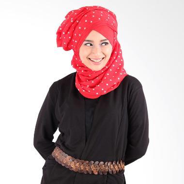 Helwa Pashmina Tierack Motif Hijab