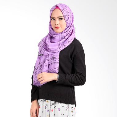 Helwa Tierack Hijab Pashmina - Ungu