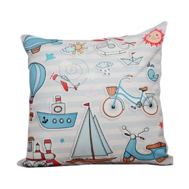 Hermosa Kids Soft Blue Bantal Sofa  ...