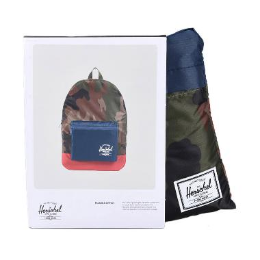 Herschel 10076-00187-OS PA Daypack  ... nd Camo/Navy/Red [24.5 L]