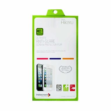 Hikaru Anti Gores Apple Iphone 5/5S (Full Set) Anti Glare - Clear