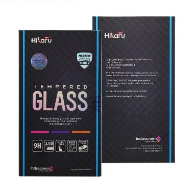 Hikaru Tempered Glass for Apple Iphone 5/5S - Clear [Fullset]