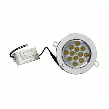 Hiled Lampu Ceiling LED - White [3W]