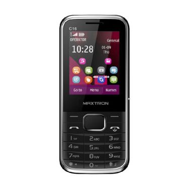 Maxtron C16 Handphone - Hitam