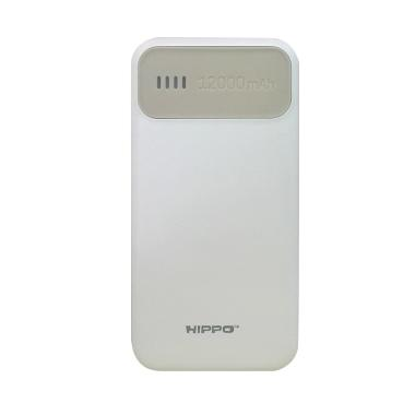 Hippo Atlas Powerbank - Abu-abu [12000 mAh/Simple Pack]