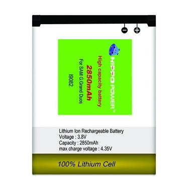 Hippo Battery for Samsung Grand Duos i9082 [2850 mAh]