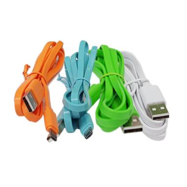 Hippo Caby Kabel Micro USB for Android [1 M] - 10PCS warna random