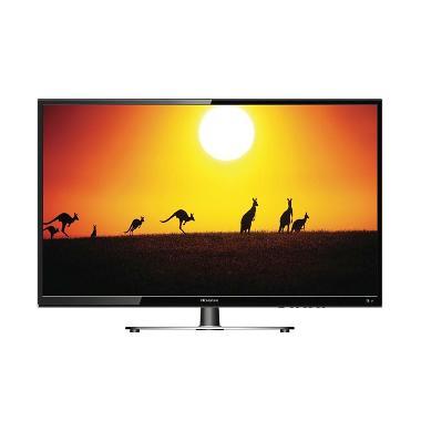 Hisense TV LED - Black Glossy [24 Inch/HD Ready]