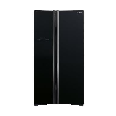 Hitachi RS80PGD2GBK Side By Side Refrigerator