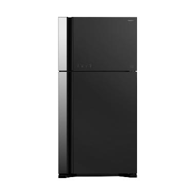 Hitachi RVG54PGD3GGR Refrigerator [2 Pintu]