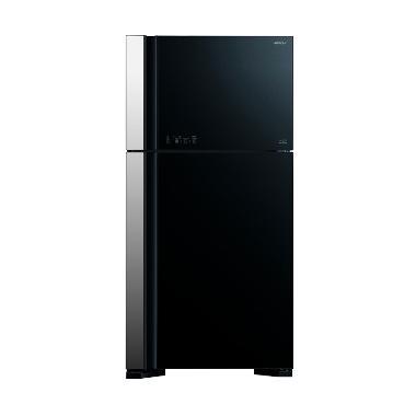 Hitachi RVG61PGD3GBK Kulkas [Two Door]