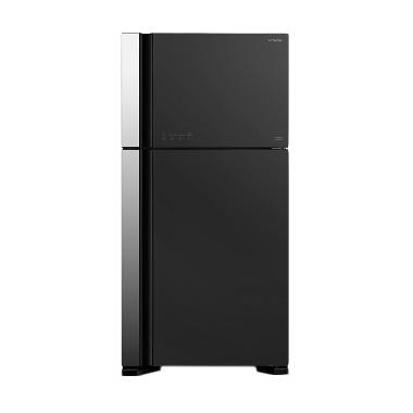 Hitachi RVG70PGD3GGR Kulkas [Two Door]