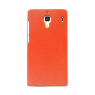 Hog Super Frosted Stone Merah Casing for Xiaomi Redmi 1S