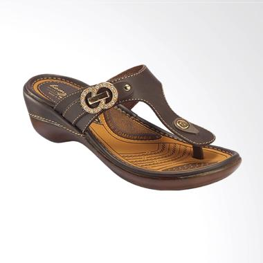 Homyped Elegance B 51 Sandal Wanita - Coffee