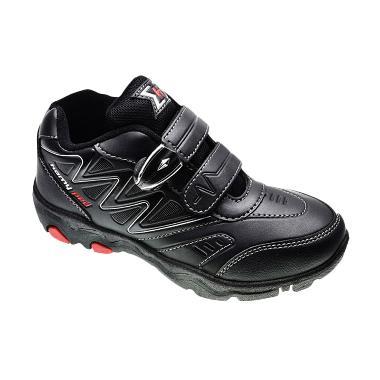 Homyped Reynand 01 Sepatu Sekolah Anak - Black