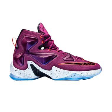Nike Lebron 13 Ungu Sepatu Basket   ...