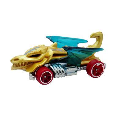 Hotwheels Dragon Blaster Diecast warna Biru muda Ungu