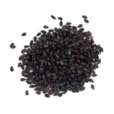 Kuaret Nabati Wijen Hitam / Natural Black Sesame Seeds [250 gr]