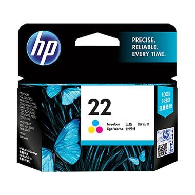 HP 22 Ink Cartridge Tinta Printer - TriColor