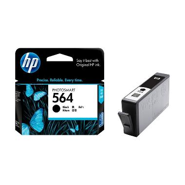HP 564 Tinta Printer - Hitam