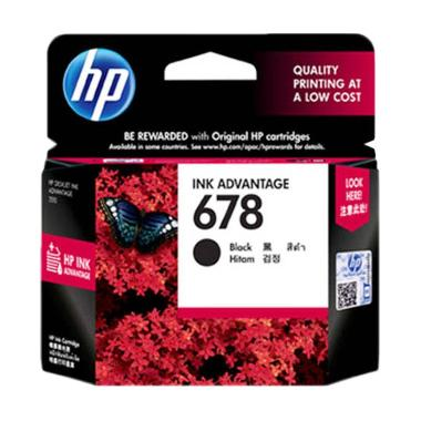HP 678 Tinta Printer - Hitam