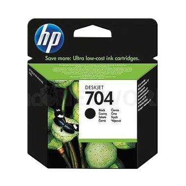HP 704 Black Tinta Printer