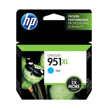 HP 951XL Tinta Printer - Cyan