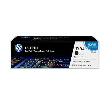 HP CB540A Toner Cartridge - Black [125A]