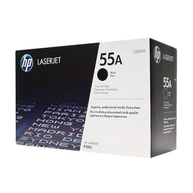 HP CE255A Black Toner Cartridge [55A]
