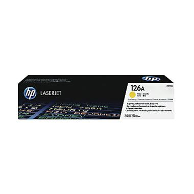 HP CE312A Toner Cartridge - Yellow [126A]